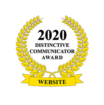 2020 Distinctive Communicator Award